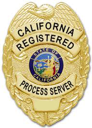 Process Server Badge